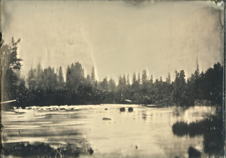 Valley of the Yosemite, from Rocky Ford (1872)-VIVIAN GALBAN 16