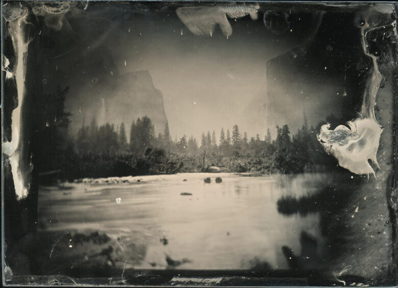 Valley of the Yosemite, from Rocky Ford (1872)